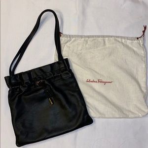 Salvatore Ferragamo Drawstring Shoulder Bag